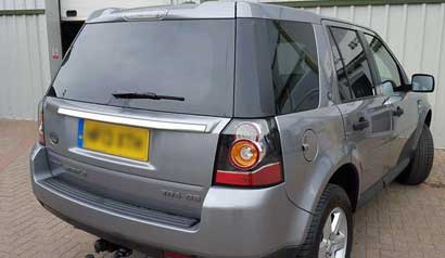 4x4 mobile car window tinting 6