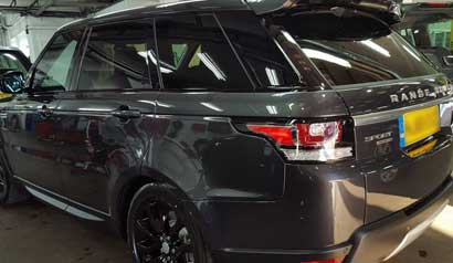 4x4 mobile car window tinting 9