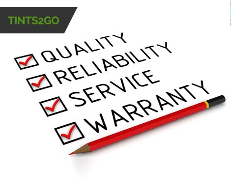 Tints2Go Warranty
