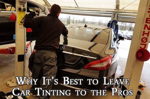 Why it's best to leave car tinting to the pros