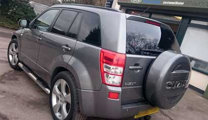 4x4 mobile car window tinting 8