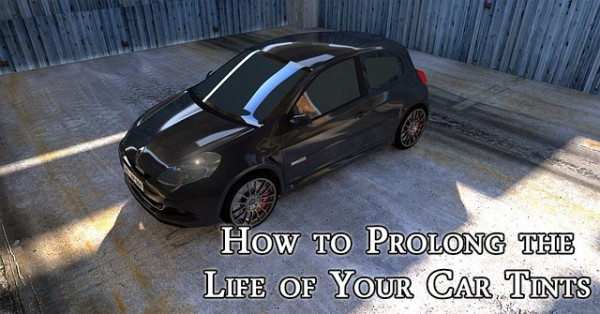 How to prolong the life of your car tints