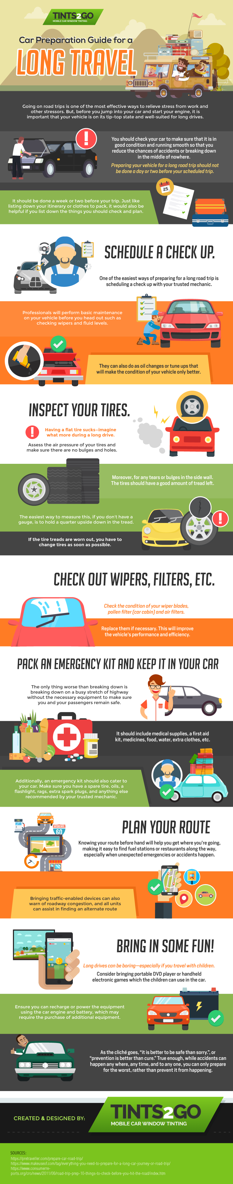 Car Preparation Guide for a Long Travel