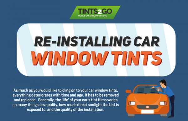 Re-installing car window tints