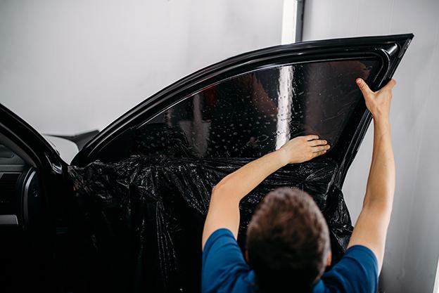 history of car window tinting
