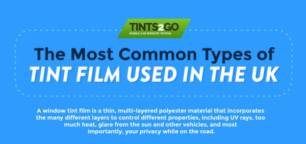 The Most Common Types of Tint Film Used in the UK-01